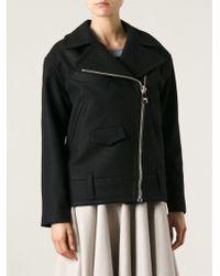Sonia By Sonia Rykiel Oversized Zipped Jacket - Lyst