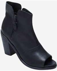 Rag & Bone Noelle Open Toe Bootie Black - Lyst