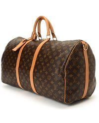 Louis Vuitton Travel Bag brown - Lyst