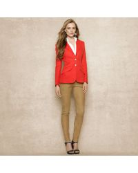 Ralph Lauren Blue Label | Linen Tweed Jacket | Lyst