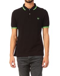 Fred Perry Polo Shirt - Soho Neon - Lyst