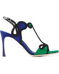Sergio Rossi 'Lagoon' Sandals - Lyst