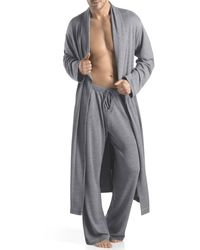 Hanro Lexington Jersey Robe - Lyst