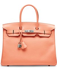 Heritage Auctions Special Collection Hermes 35cm Flamingo Togo Birkin - Lyst