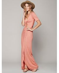 Free People Tying The Knot Dress - Lyst