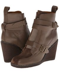 See By Chloé wedges boots wedge boots ankle boots - Lyst