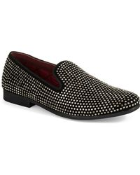 Steve Madden Caviarr Rhinestone Loafers - Lyst