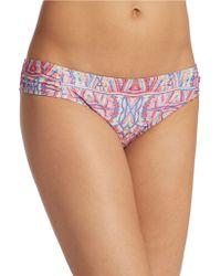 Nanette Lepore Solana Hipster Bikini Bottom multicolor - Lyst