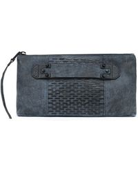 She + Lo - 'next Chapter' Studded Clutch - Lyst