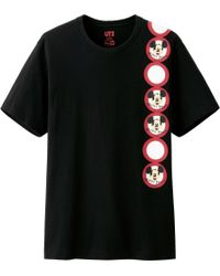 Uniqlo Men Disney Project Graphic Short Sleeve T Shirt - Lyst