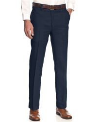 Lauren by Ralph Lauren Linen Dress Pants - Lyst