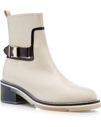 Nicholas Kirkwood Buckled Leather Chelsea Boots - Lyst
