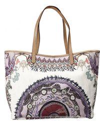 Etro Handbag Bag Shopping Printed - Lyst