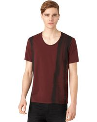 Calvin Klein Paint Strokes Tshirt - Lyst