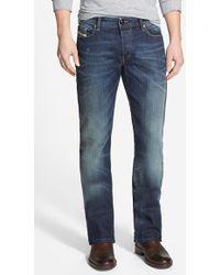 Diesel 'New Fanker' Slim Bootcut Jeans - Lyst