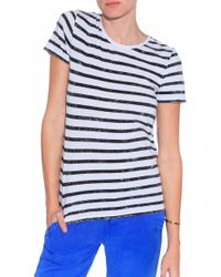 Vince Striped T-Shirt - Lyst