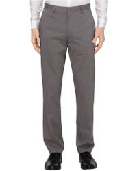 Calvin Klein Endonend Tech Poplin Slim Straight Pants - Lyst