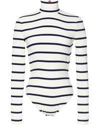 Preen Printed Swim Hartley Swimsuit in Ivory Breton - Lyst