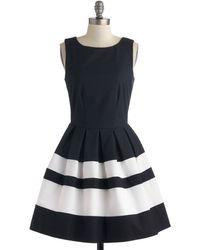 ModCloth A Dreamboat Come True Dress in Nautical - Lyst