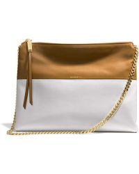 Coach The Highrise in Two Tone Leather - Lyst