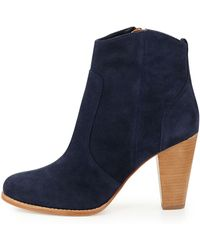 Joie Dalton Suede Ankle Boot - Lyst