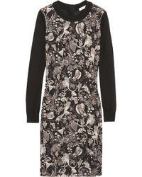 Matthew Williamson Printed Merino Wool Dress - Lyst