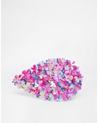 Asos Sequin Burst Hair Comb - Lyst