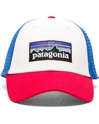Patagonia   P-6 Logo Lopro Trucker Hat   Lyst