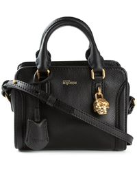 Alexander McQueen Mini Padlock Shoulder Bag - Lyst