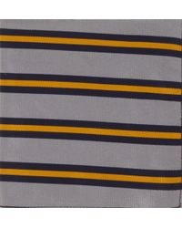 Band Of Outsiders 5th Battalion Royal Sussex Regimental Stripe Pocket Square - Lyst