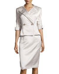 Carolina Herrera - Silk Classics 2-piece Suit - Lyst