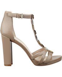 Nine West Wiglie T-Strap Sandals - Lyst