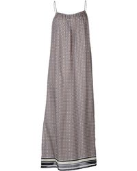 Vince Long Dress - Lyst