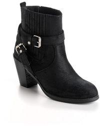 Volatile - Milo Leather Boots - Lyst