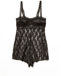 Free People Jules Lace Bodysuit - Lyst