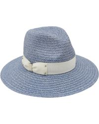 Eugenia Kim Light Blue Gabriella Fedora Sunhat - Lyst