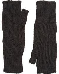 Eugenia Kim Joelle Fingerless Gloves black - Lyst