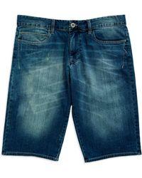 Calvin Klein Jeans Clarity Jean Shorts - Lyst