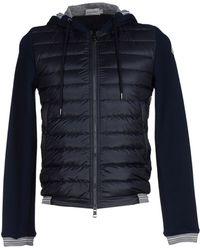 Moncler Down Jacket blue - Lyst