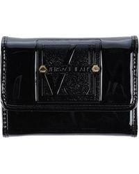 Versace Jeans Wallet black - Lyst