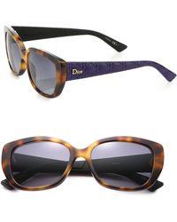 Dior | Lady Ii 55mm Square Sunglasses | Lyst