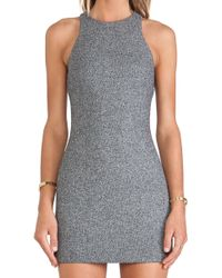 T By Alexander Wang Neoprene Dress - Lyst