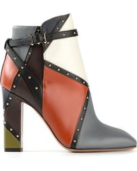 Valentino Ankle Boots - Lyst