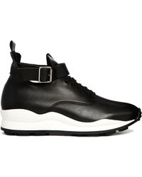 Opening Ceremony High Top Black Sneaker Trainers - Lyst
