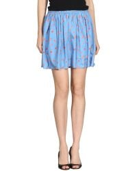girl. by Band of Outsiders Mini Skirt - Lyst