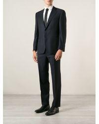 Canali Slim Fit Suit - Lyst