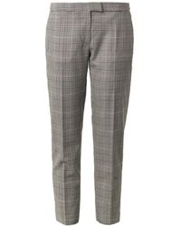 Stella McCartney Dorrit Dogstooth Tailored Trousers - Lyst