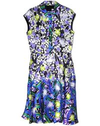 Peter Pilotto Nc Short Sleeve Shirt Dress - Lyst