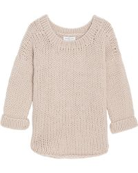 Paul & Joe Chunky Round Neck Loose Knit - Lyst