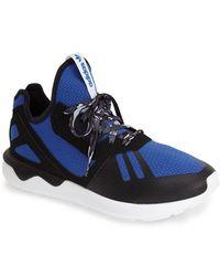 Adidas 'Tubular 1.0 Runner' Sneaker blue - Lyst